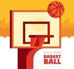 篮球架和篮球