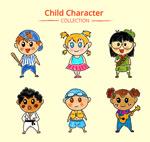 彩绘可爱儿童