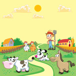 农夫和小动物