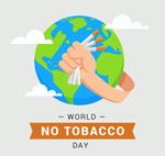 世界无烟日矢量