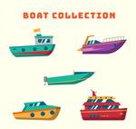 彩色船舶设计