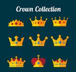 扁平化皇冠设计