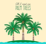 棕榈树矢量