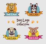 宠物狗头像标志