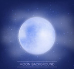 明亮的月亮