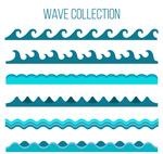 蓝色海浪设计