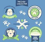 手绘宠物狗标志