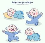 彩绘婴儿设计