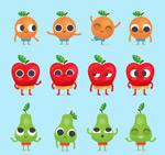 创意水果表情