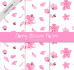 粉色樱花无缝背景
