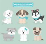 可爱宠物狗设计