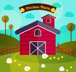 扁平化养鸡场
