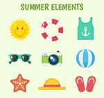 夏季元素图标