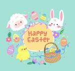 复活节小动物