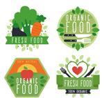 新鲜有机食物标签