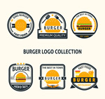 汉堡包标志矢量