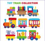 可爱玩具火车