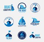蓝色帆船标志