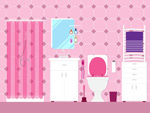 粉色浴室设计