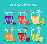 新鲜杯装果汁