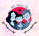 彩绘国际家庭日