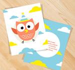 猫头鹰卡片