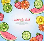 水果切片框架