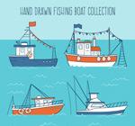 彩绘渔船设计