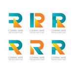 字母R商务标志
