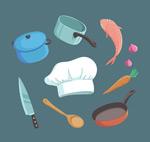 创意厨房元素