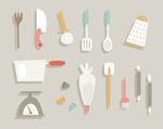 厨房用品矢量