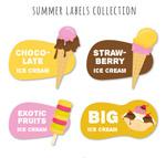夏季雪糕标签