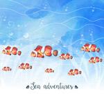 海底小丑鱼群
