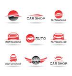 汽车主题标志