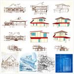建筑施工图矢量