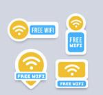 免费无线网贴纸