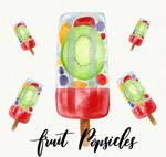 夏季水果冰棍