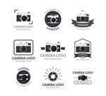 黑色照相机标志