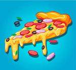 奶酪三角披萨
