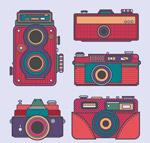 复古彩色照相机