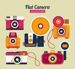 彩色扁平化照相机