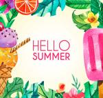 你好夏季框架