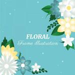 春季花朵背景
