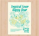 热带派对传单