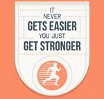 运动健身隽语海报