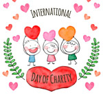 国际慈善日儿童