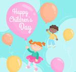 彩绘儿童节气球