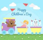 儿童节玩具火车