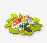 立体网上购物元素