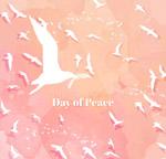 国际和平日鸽子群